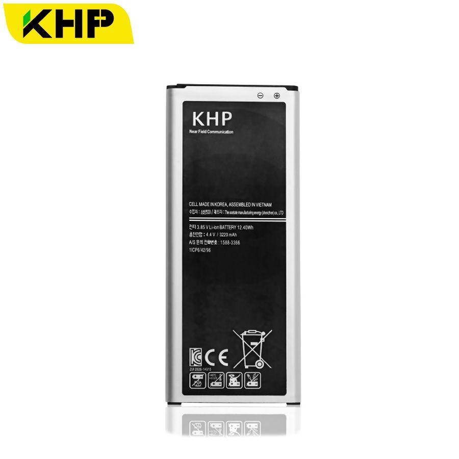 100% D'origine KHP Batterie Pour Samsung Galaxy Note 4 N910A N910V N910P N910C N910T 3220 mAh Intégré NFC AAA Remplacement Batteries