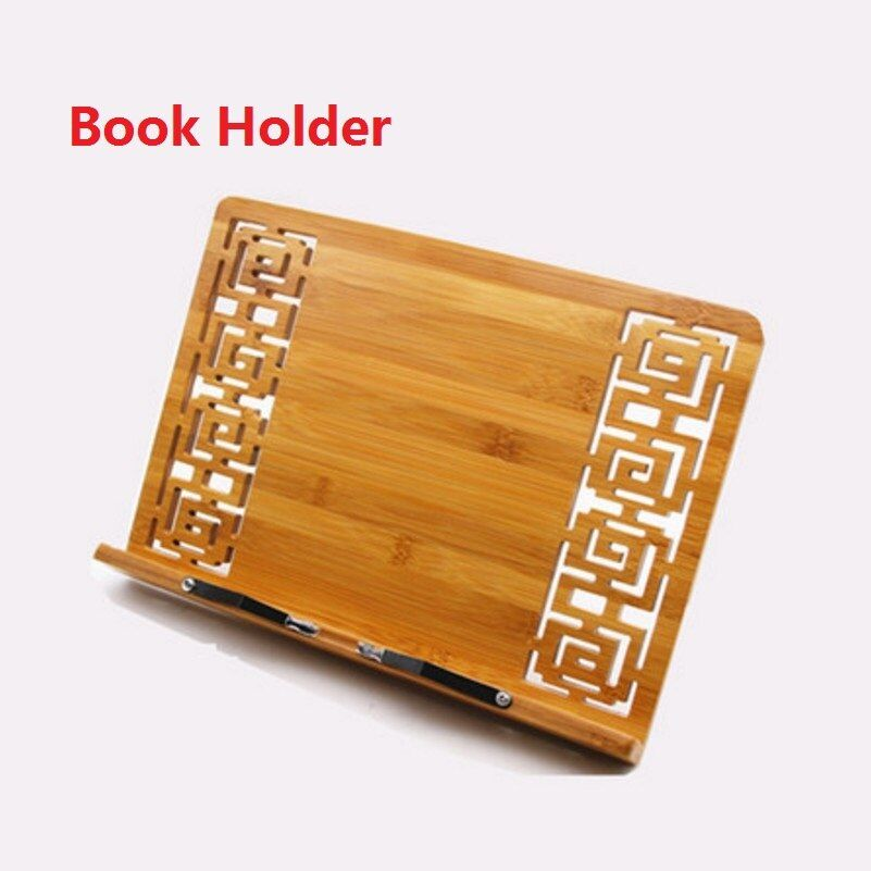 34*23 cm De Bambú Soporte de Libro de Lectura de bambú Grande Medio Pequeño estante zitie estante sujetalibros marco de lectura; Soporte de libro Soporte de Copia