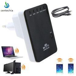 Original WiFi repetidor inalámbrico 300 Mbps red Antenas WiFi extender señal Amplificadores 802.11n/B/G Booster de señal repetidor wifi