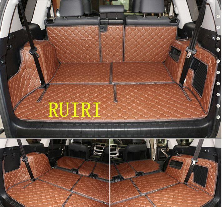 Gute & Kostenloser versand! Spezielle stamm matten für Lexus GX 460 7 sitze 2018-2010 wasserdichte boot teppiche cargo-liner für GX460 2014