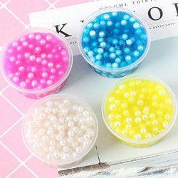 1 pcs nouvelle perle boue boue moelleux mousse boue encens perles éliminer le stress enfants de jouets anti-stress jouet Jouets à Presser visqueux chat