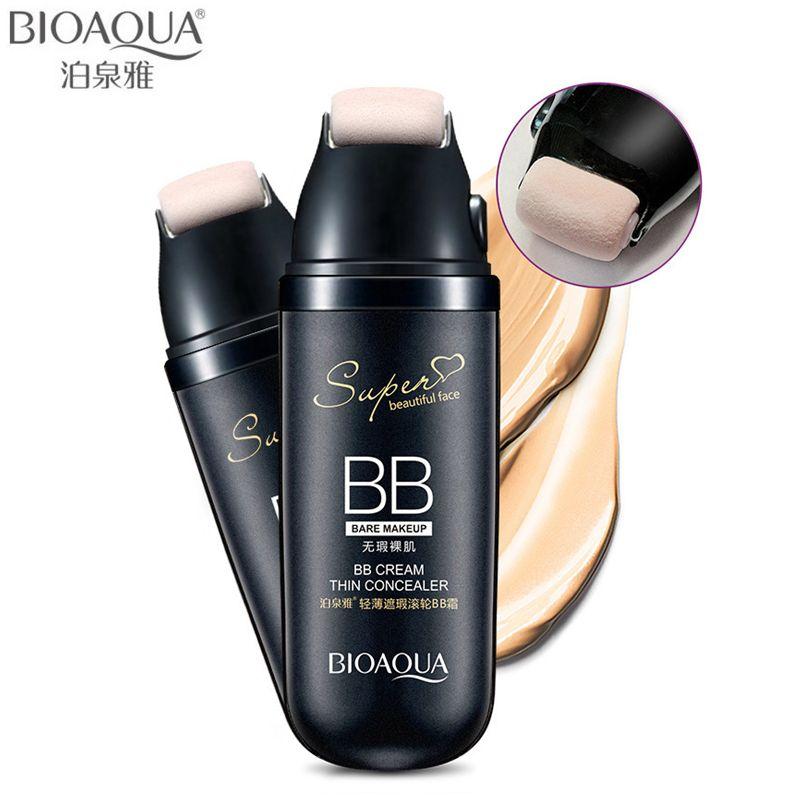 BIOAQUA Marque Défilement Liquide Coussin BB Crème Base Maquillage Correcteur Impeccable Hydratant Cosmétiques Visage Fondation Make Up