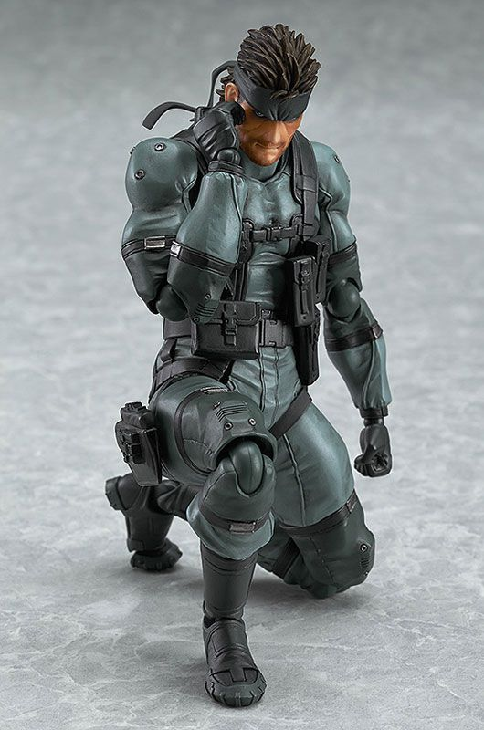 METAL GEAR SOLID 2: SONS OF LIBERTY 243 Snake PVC Action Figure Collectible Model Toy 15cm