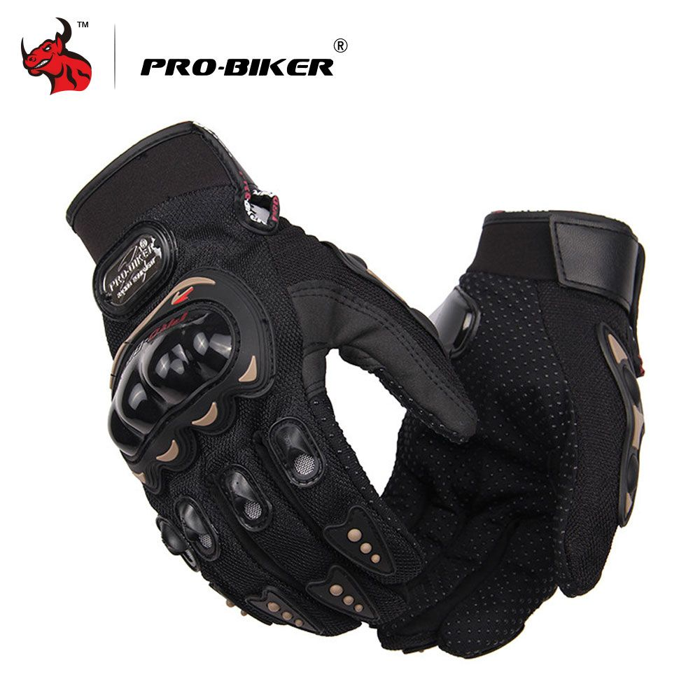 PRO-BIKER Motorcycle Gloves Men Motocross Gloves Full Finger Knight Riding Motorbike Moto Gloves Motocross Guantes Gloves M-XXL