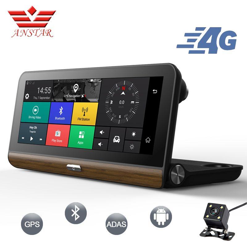 ANSTAR 3G/4G Car DVR GPS Camera 7.84