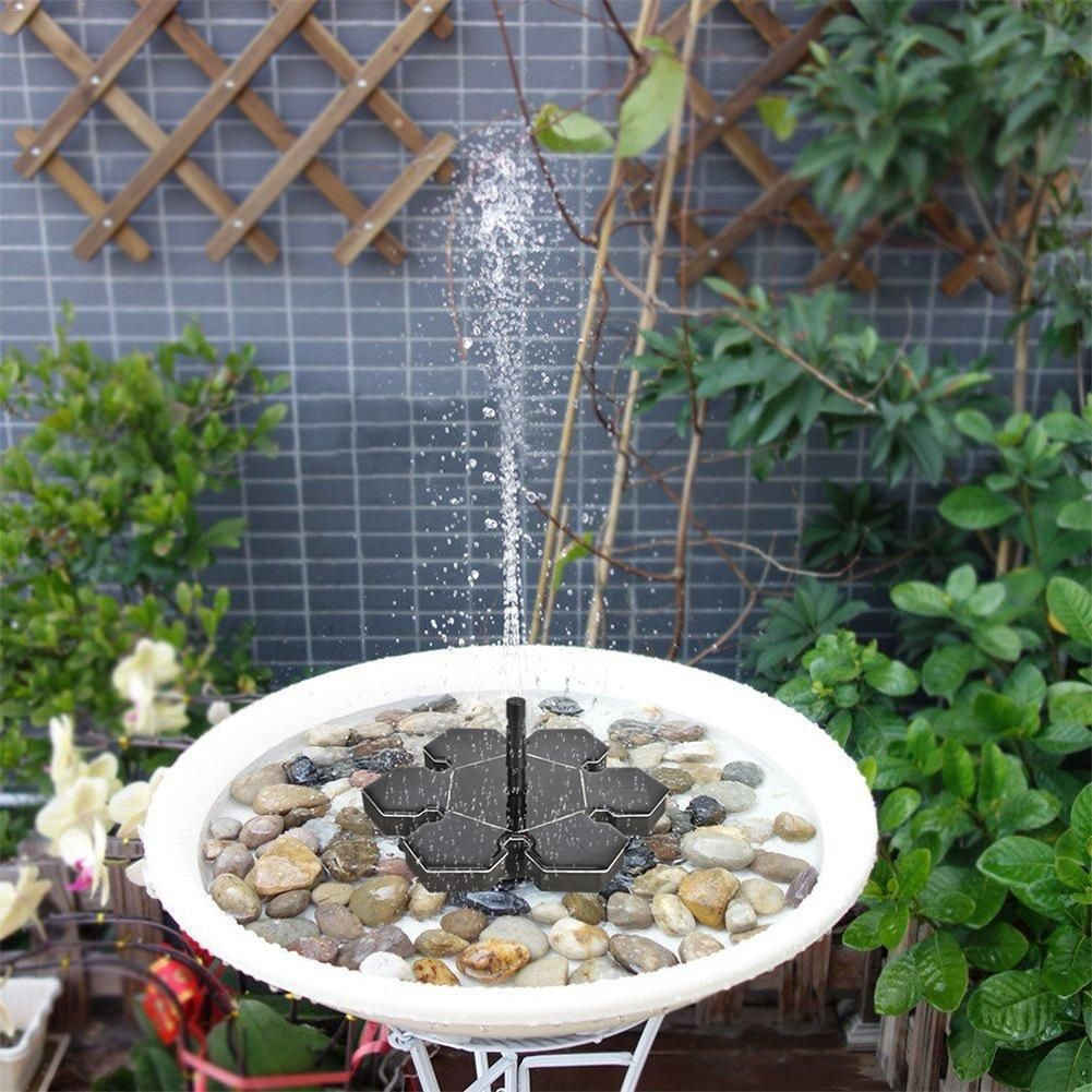 Solar Water Pump Floating Panel Pool Solar Power Fountain Garden Landscape Pond Watering Kit