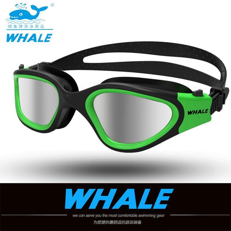 water glasses professional swimming goggles Adults Waterproof swim uv <font><b>anti</b></font> fog adjustable glasses oculos espelhado pool glasses