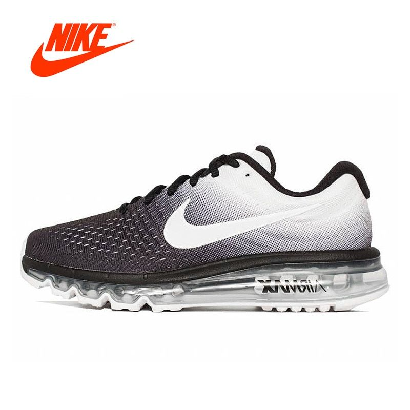 Original New Arrival Authentic Nike AIR MAX2017 Breathable Men's Running Shoes Sport Outdoor Sneakers Good Quality 849559-010