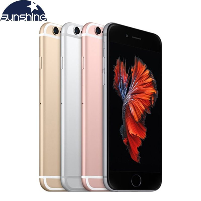 Original <font><b>Unlocked</b></font> Apple iPhone 6S/iPhone 6S Plus Mobile phone 12.0MP 2G RAM 16/32/64/128G ROM 4G LTE Dual Core WIFI Cell Phones