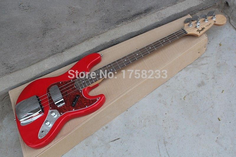 . 2017 New factory FD jazz bass electric guitar FD 4 string electric bass guitar custom body
