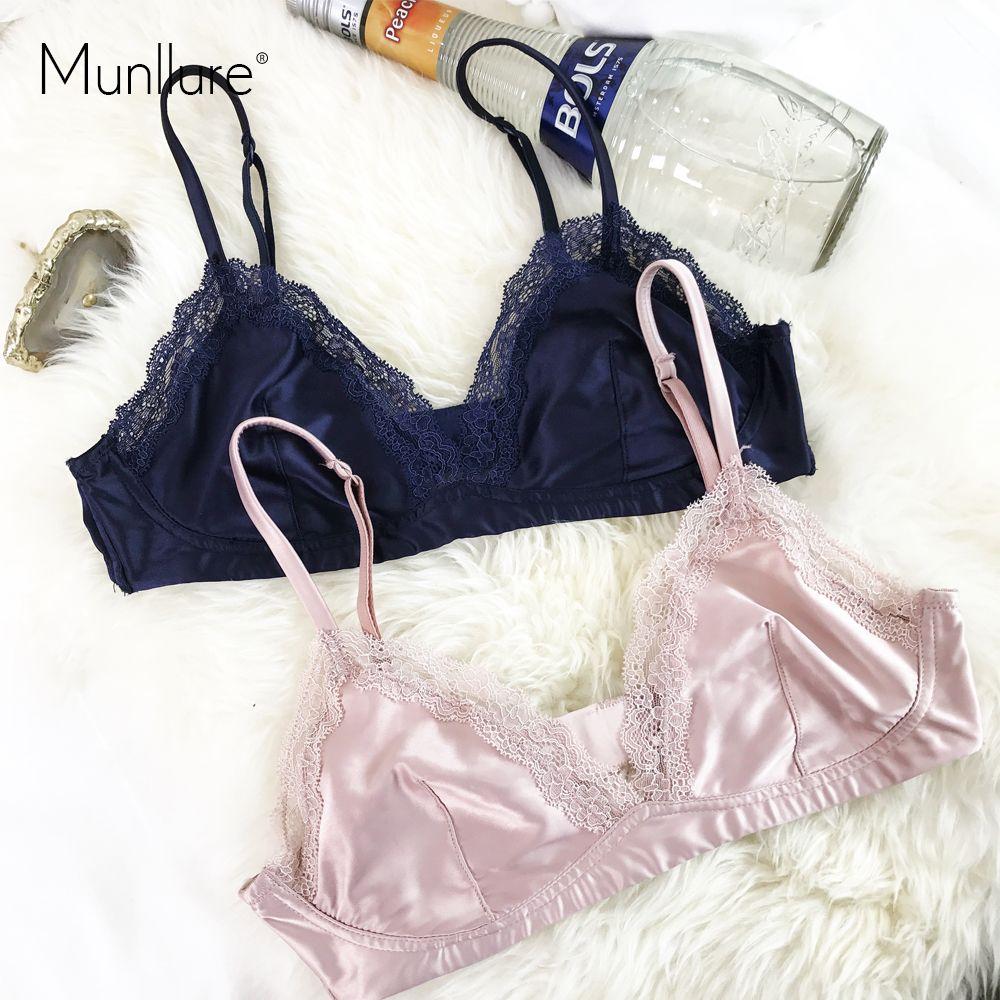 Munllure ruban Ultra-mince sans couture soutien-gorge sans trace recueillir soutien-gorge sexy sous-vêtements arrière