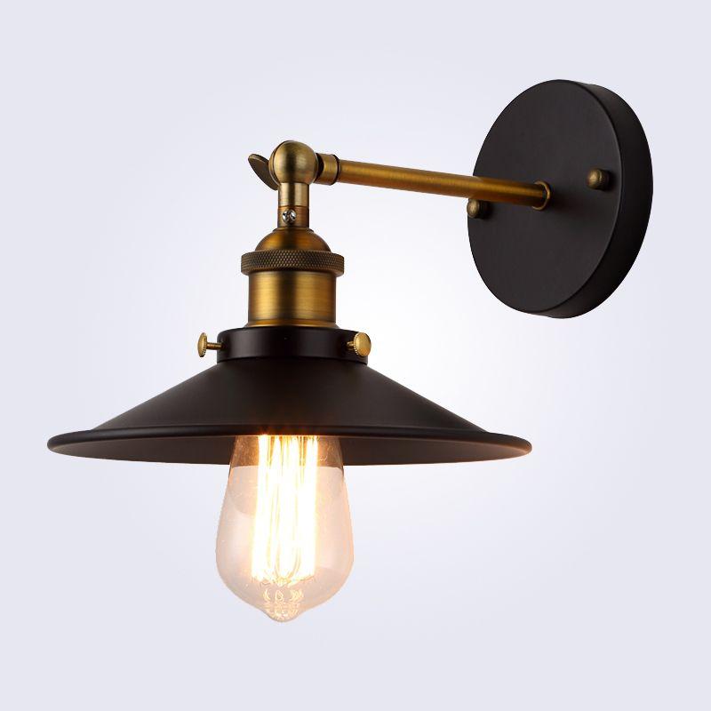 American vintage wall lamp indoor lighting bedside lamps wall lights for home diameter 22cm 110V/220V E27
