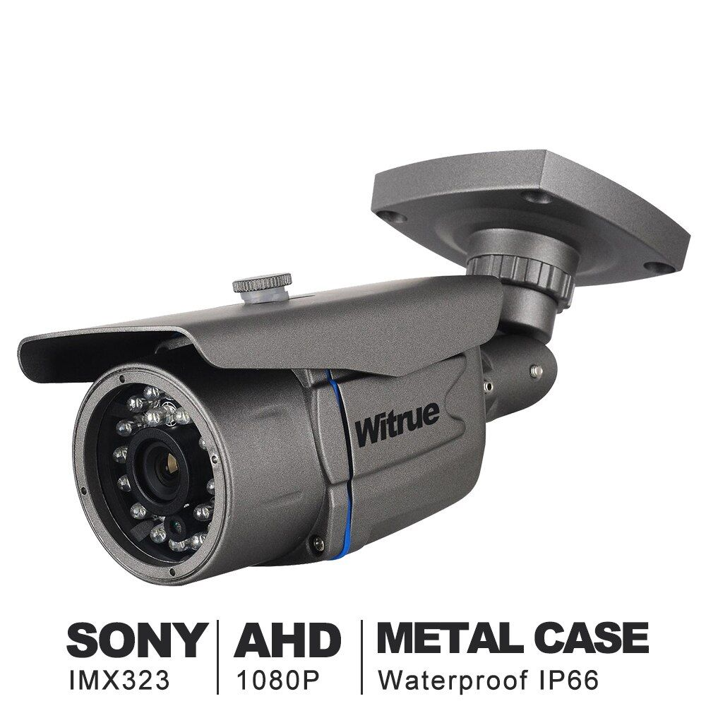 AHD Camera1080P Surveillance Camera Sony IMX323 20M Night Vision CCTV Camera IR Outdoor Waterproof Security Camera
