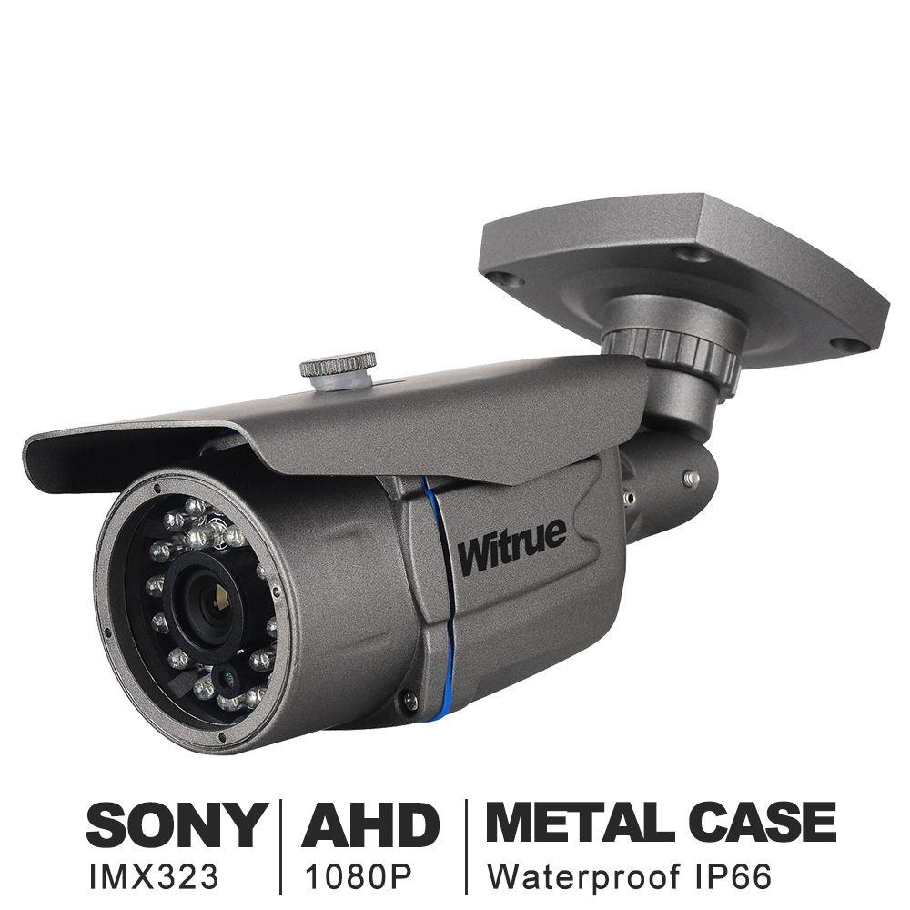 Witrue Mini Caméra de Surveillance Sony IMX323 AHD Camera1080P 20 m Nuit Vision CCTV Caméra IR Extérieure Étanche Caméra de Sécurité