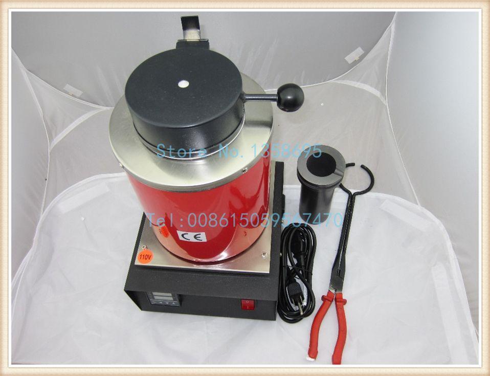 1kg electric melting furnace,Melt Scrap Silver & Gold induction furnace at Home