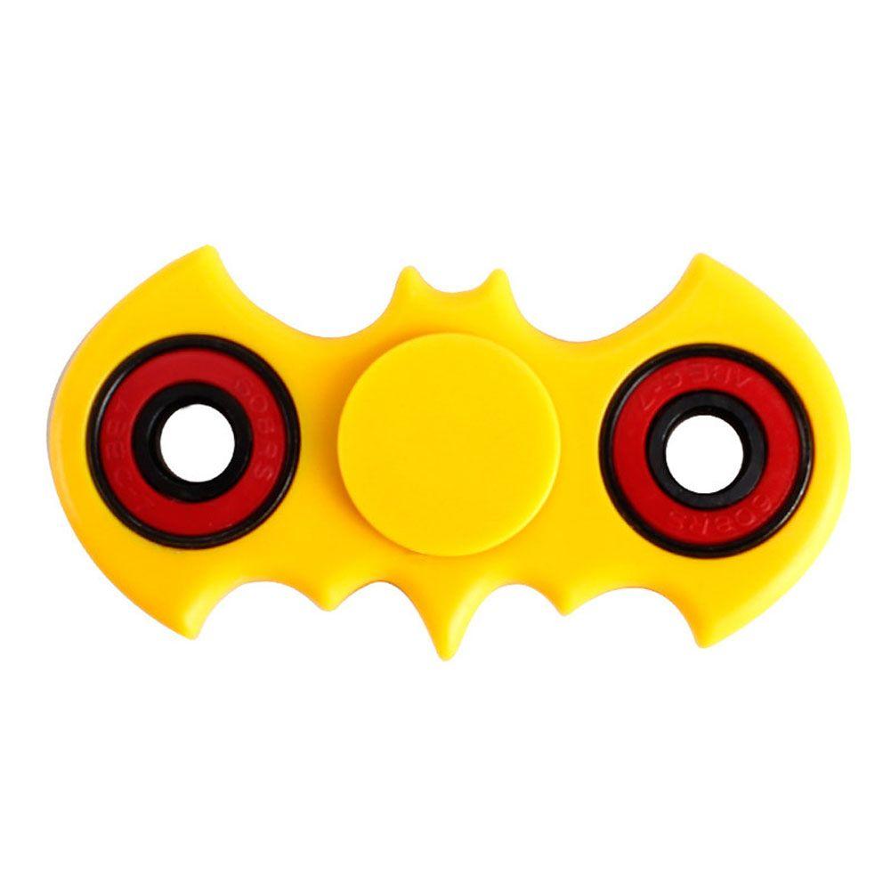 4.2*8.1 cm Bat Manos Spinner spinner Fidget Aliviar El estrés Profesional Dedo regalo gyro Para El Autismo