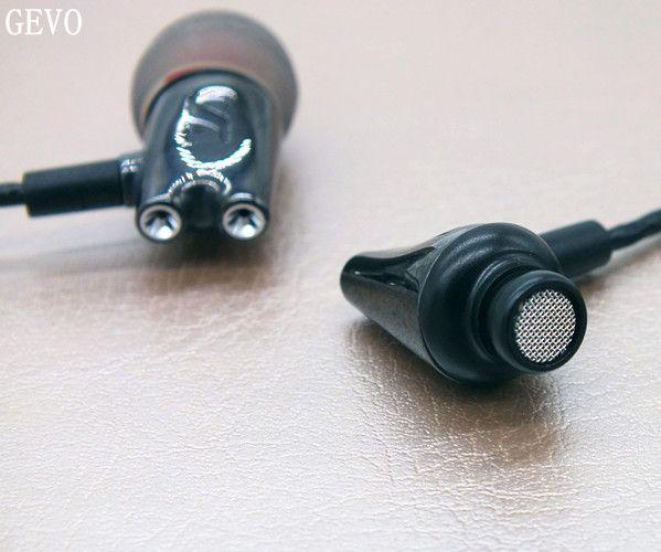 DIY IE800 GEVO En Céramique Dans L'oreille écouteurs HiFi In-Ear Casque HD Stéréo Bouchons D'oreille Avec microphone pour mobile téléphone MP3 4 lecteur