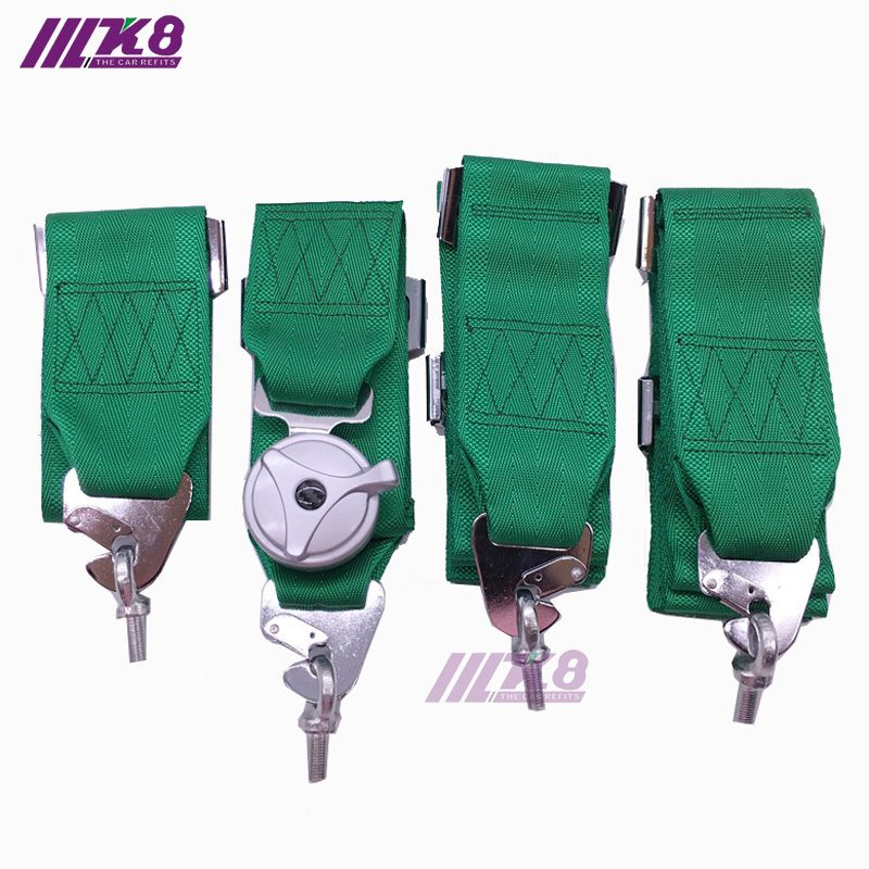 3 Inch 4 point  Camlock  Car Auto Racing Sport Seat Belt Safety  Racing Harness