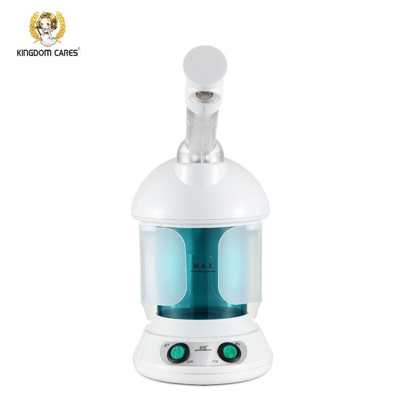 KÖNIGREICH DIE Heißen Nebel Gesichts-dampfer Luftbefeuchter Ozon Sterilisation Dampfenden Haut Lonic Aromatherapie Ätherisches Öl KD-2328