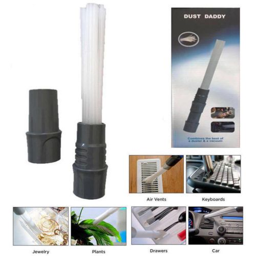 Creative Useful Dust Daddy Brush Cleaner Dirt Remover Universal Vacuum Attachment Cleaning Tools