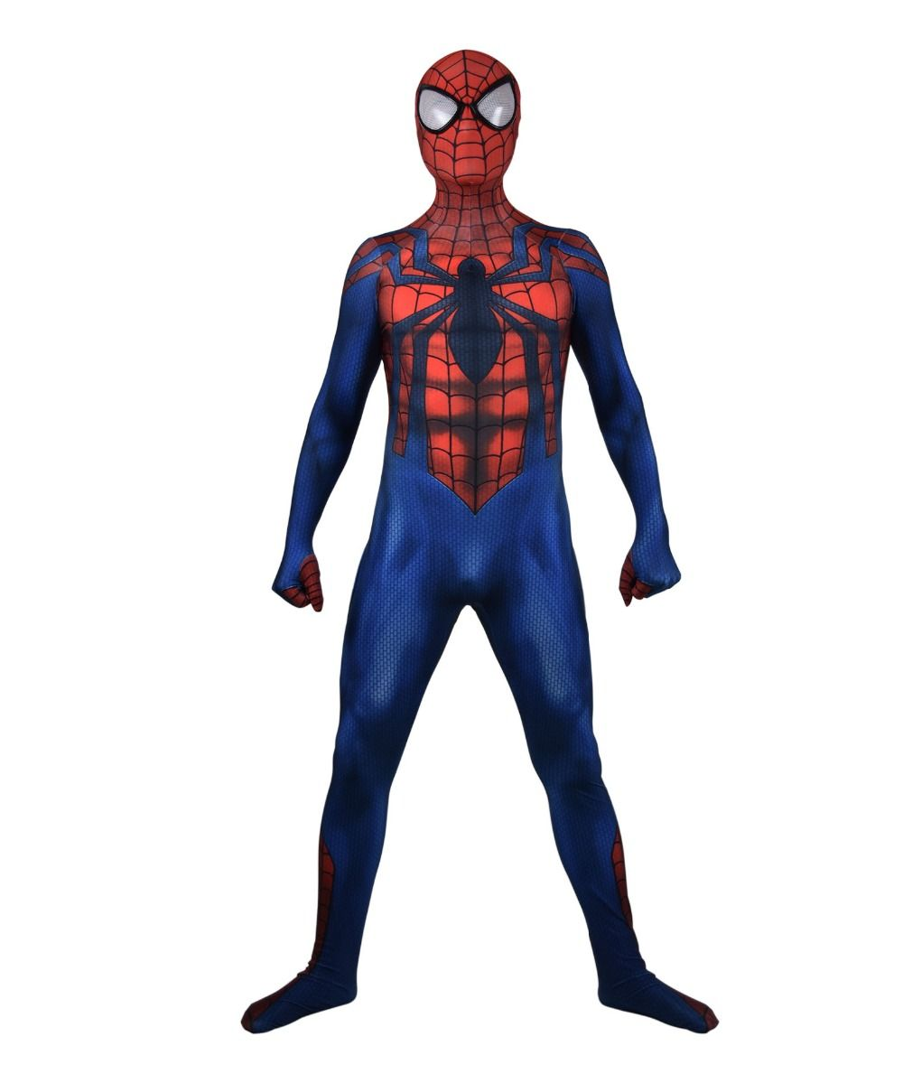 Ben Reilly Spider-Man Cosplay Kostüm Lycra Spiderman Zentai Body Halloween-Party Anzug