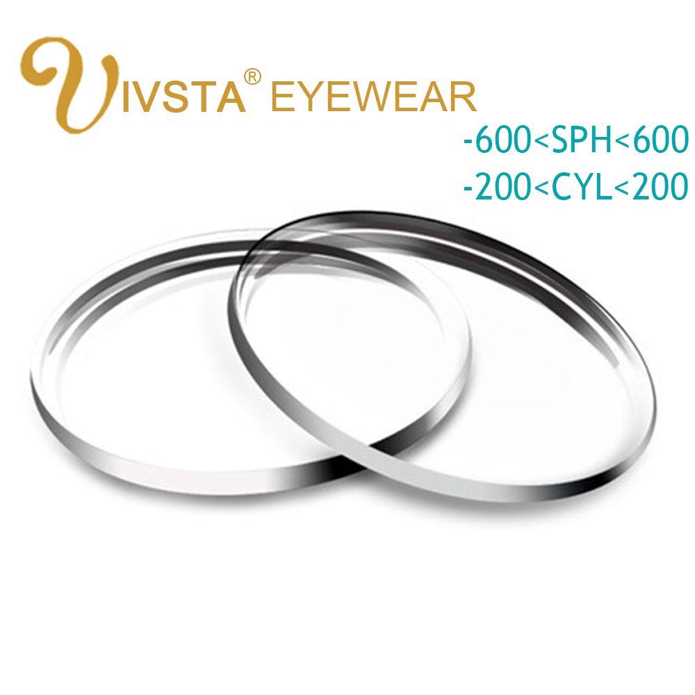 IVSTA 1.56 1.61 1.67 Aspherical Customized Lenses anti blue rays radiation scratch Glasses Men Women Prescription Hyperopia 1.74