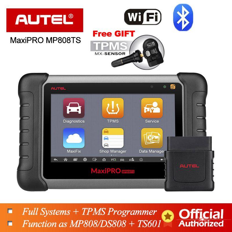 Autel MP808TS Diagnose Werkzeug Prime von DS808 Besser als MS906 MS906TS MS906BT Kombinieren von MS906BT TS601 Wifi Bluetooth Scanner