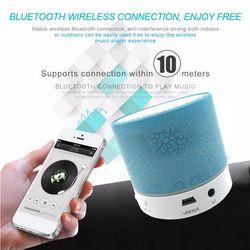 Mini Bluetooth Speaker Wireless LED Dancing Music Audio Speaker Support TF Card Stereo Sound FM Radio Speakers For Ihone Xiaomi