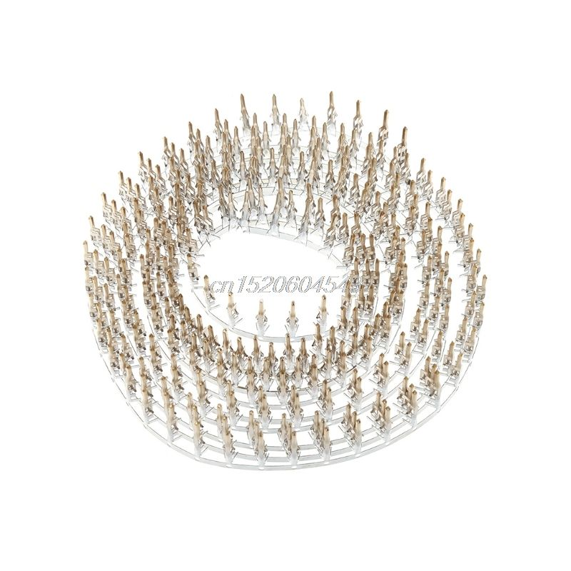 300 Pcs 4.2mm 5559 Computer Connector Terminals Male Needle Pin High Foot R24 Drop Ship