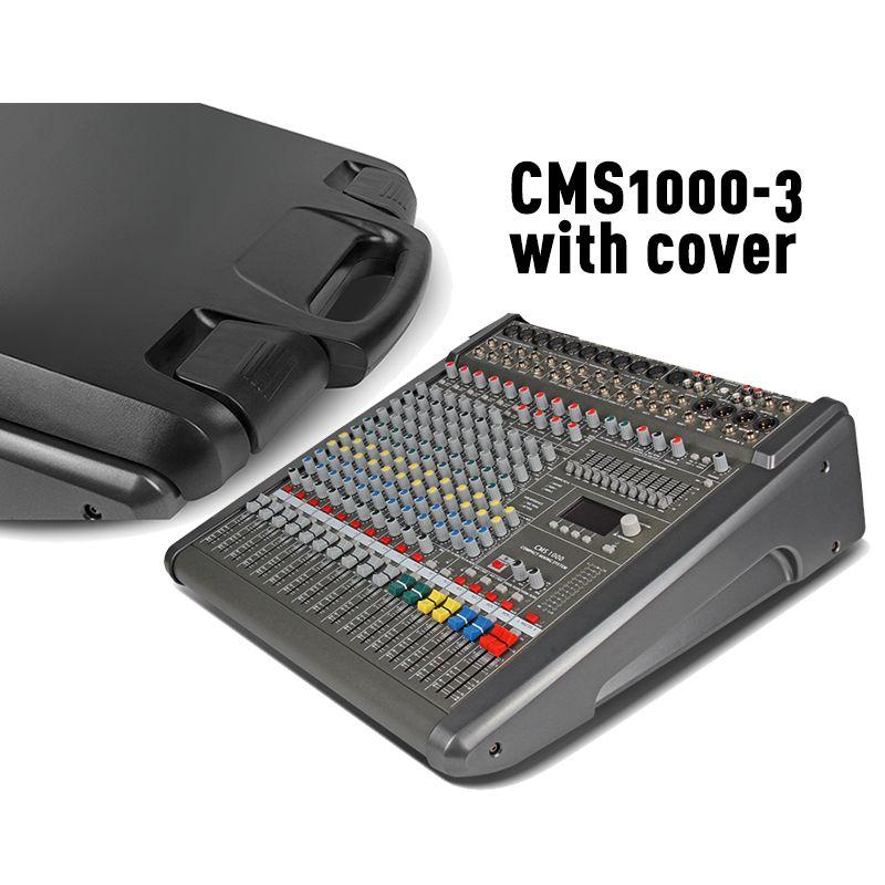CMS Professional audio Mixer dj Mischen Konsole 1000-3 mit Kunststoff abdeckung 11 marke EQ Dual DSP Effekte