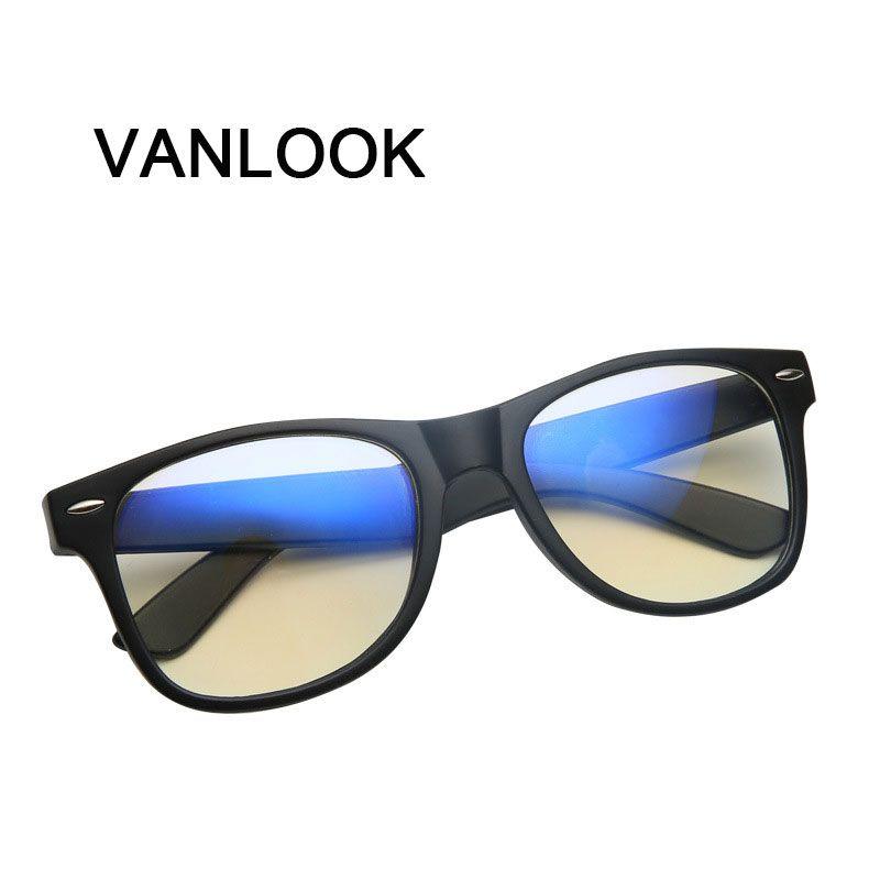 Gläser für Die Computer Oculos de Grau Brillengestell für Männer Frauen Transparente Brillen Blaue Beschichtung Reflex Anti UV