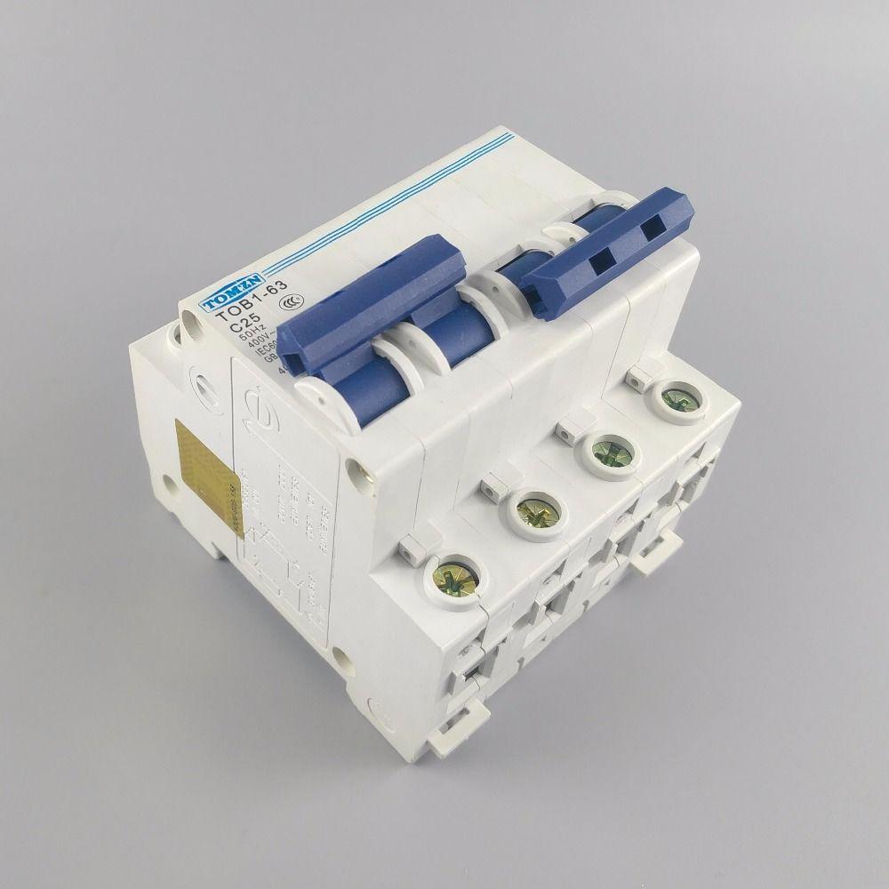 2 P 25A MTS DUAL-POWER-SCHALTER Manuelle übertragung schalter schutzschalter MCB 400V ~