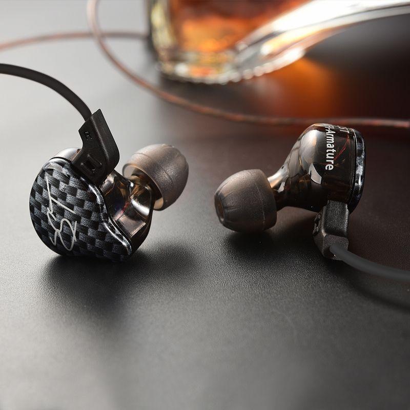 D'origine KZ ZST Dans L'écouteur D'oreille 1DD Avec 1BA Hybride Lecteur HIFI Écouteur Courir Sport Écouteurs Monito Écouteurs Boules Quies Casque