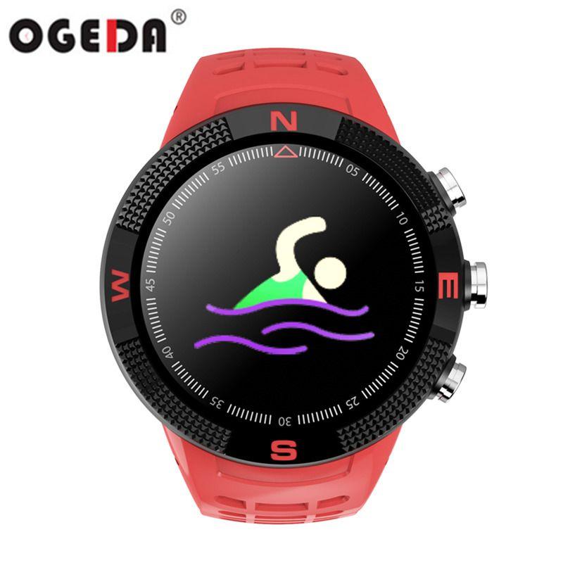 OGEDA F18 Männer Sport Smart Uhr Gebaut In Gps, beidou glonass, Unabhängige GPS rekord Kalorien Bluetooth Kompass
