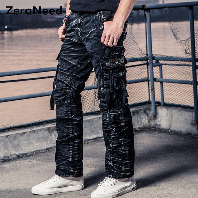 Camo Cargo Pantalon hommes travail Pantalon hommes Multi poche armée thermique Pantalon hommes militaire Camouflage Pantalon hommes nouveau coton Pantalon 164