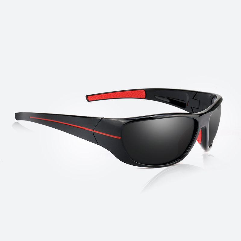 Hommes Sport lunettes de Soleil Polarisées De Pêche Lunettes Vélo Lunettes de Soleil En Plein Air Lunettes UV400 Gafas De Sol Masculino Oculos Ciclismo