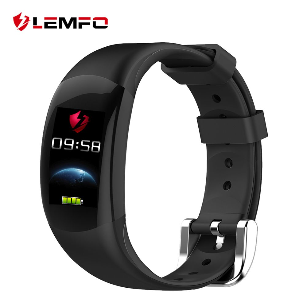 LEMFO LT02 Smart Band 2 <font><b>IP68</b></font> Waterproof Bluetooth Fitness Bracelet Charm Men Women Bracelet Watches For Xiaomi Mi Wrist Band