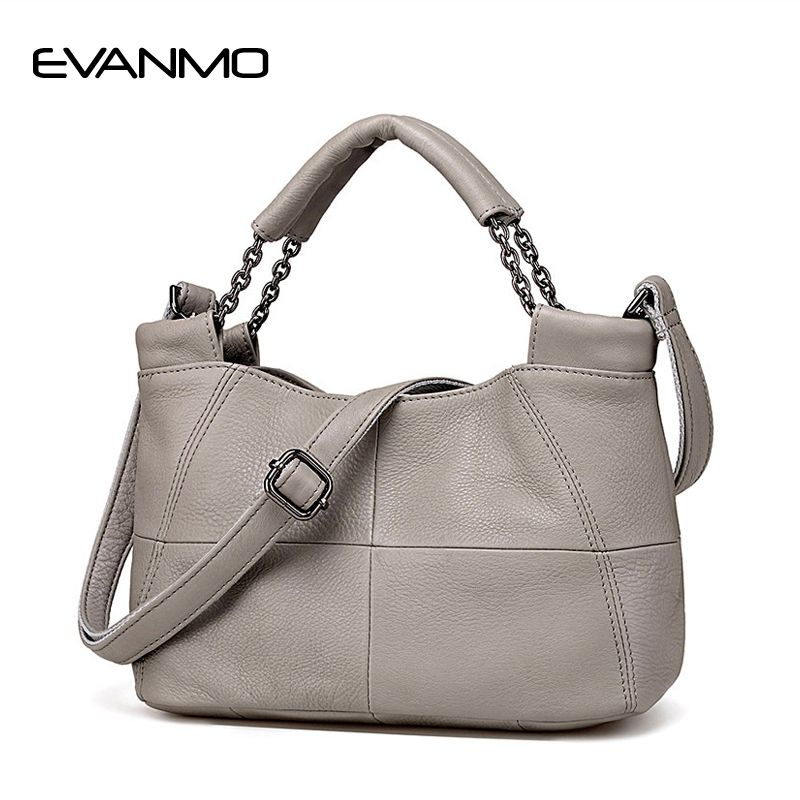 <font><b>Best</b></font> Special Offer New Bucket Quality Genuine Leather Women Handbags 2018 Brand Tote Bag Plaid Top-handle Famous Designer Totes