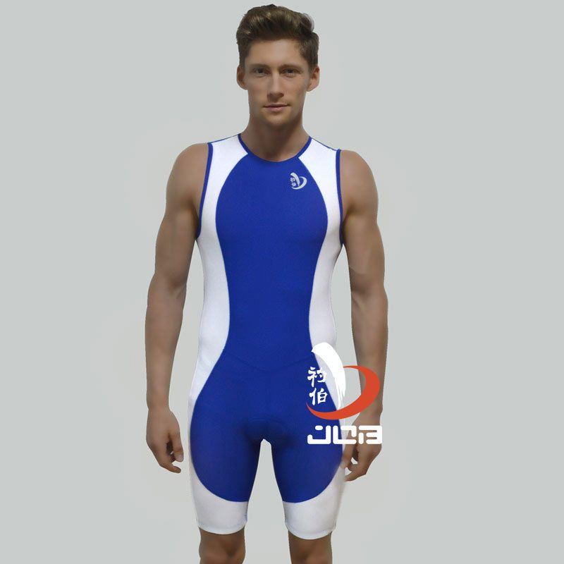 Sublimation Custom Triathlon Cycling one-piece suit/Tri suit/ Triathlon wetsuit running with <font><b>pads</b></font> for sports