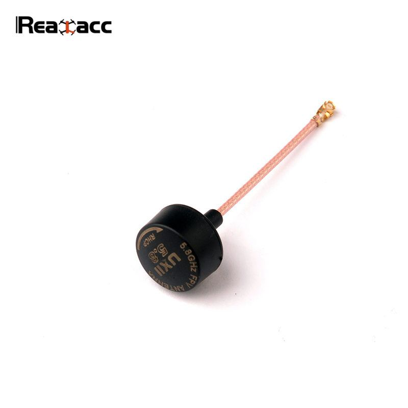 Realacc UXII Stubby RHCP U.FL/IPEX IPX 5.8GHz 1.6dBi Super Mini Antenna For TX RX Fatshark Goggles RC Models Multicopter Part