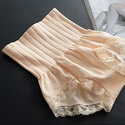 2017 dames sans soudure de haute taille abdomen hip sculpture sous-vêtements mémoires Modal dentelle lingerie boutique underpant du ventre bande Pantalon