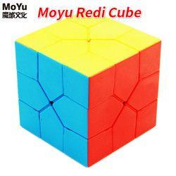 Moyu Redi Cube Magic Puzzle Kecepatan Kubus Profesional Aneh-Bentuk Kubus Specail Permainan Kubus Mainan Pendidikan untuk Anak-anak