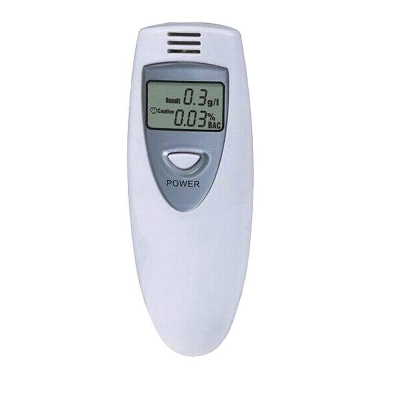 Analyseur d'alcoolémie d'appareil de contrôle numérique d'alcool de sensibilité élevée petite taille avec la lanière facile à porter mesure précise