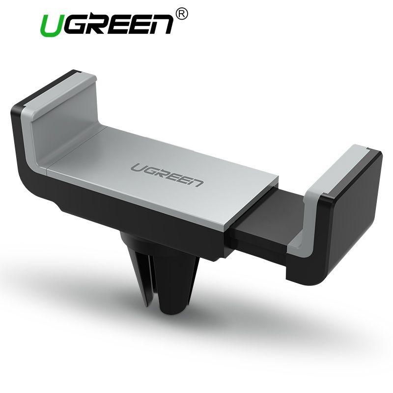 Ugreen Auto Handyhalter für iPhone 8X7 6 S Air Vent Halter-standplatz 360 Rotation Handy Stehen für Samsung Xiaomi Stand