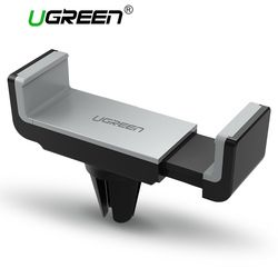 Ugreen teléfono titular del coche para el iPhone 8x7 6 s soporte de aire soporte para teléfono móvil 360 Rotation soporte para Samsung xiaomi soporte