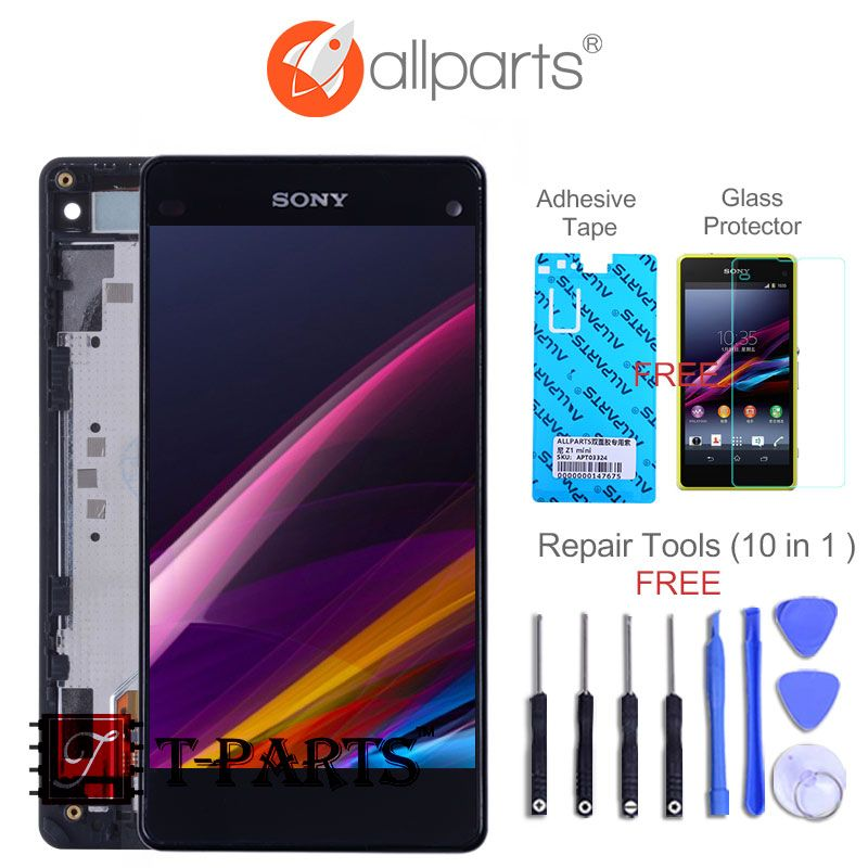 Original 4.3'' LCD for SONY <font><b>Xperia</b></font> Z1 Compact Display Touch Screen Digiziter For SONY <font><b>Xperia</b></font> Z1 Compact Display D5503 M51w