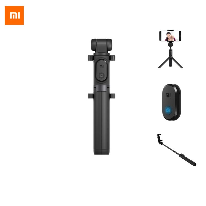 Xiaomi trépied de poche extensible Selfie bâton trépied Bluetooth 3 en 1 monopode autoportrait pour iPhone et Android Smartphone