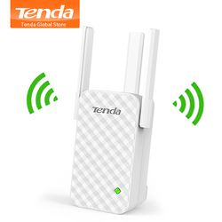 Tenda A12 Wireless WiFi Repeater, Universal Wireless Range Extender, Enhance AP Receiving Launch, High Compatible with Router