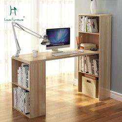 Louis moda escritorio de la computadora escritorio ambiental esquina estantería Oficina moderno minimalista saludable de almacenamiento grande