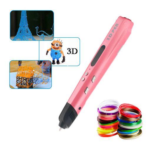 De haute Qualité D'origine 3D Stylo Pour Meilleur Enfant BRICOLAGE Cadeau Graffiti Stylo 3D Stéréo Dessin Stylo Compatible 1.75mm Utiliser ABS/PLA Filament